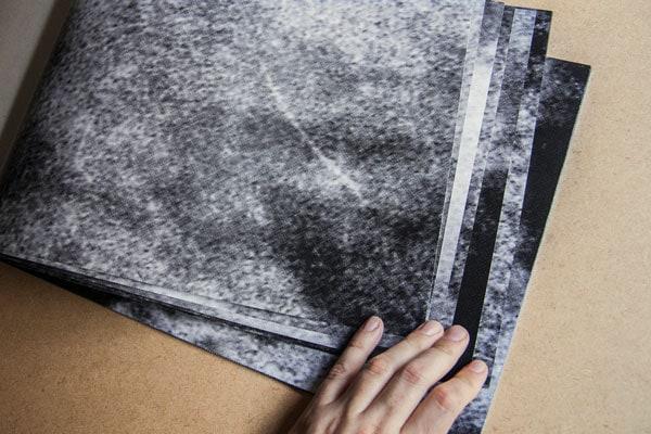 Libro de artista (Sísifo) antes del descenso Laia Argüelles