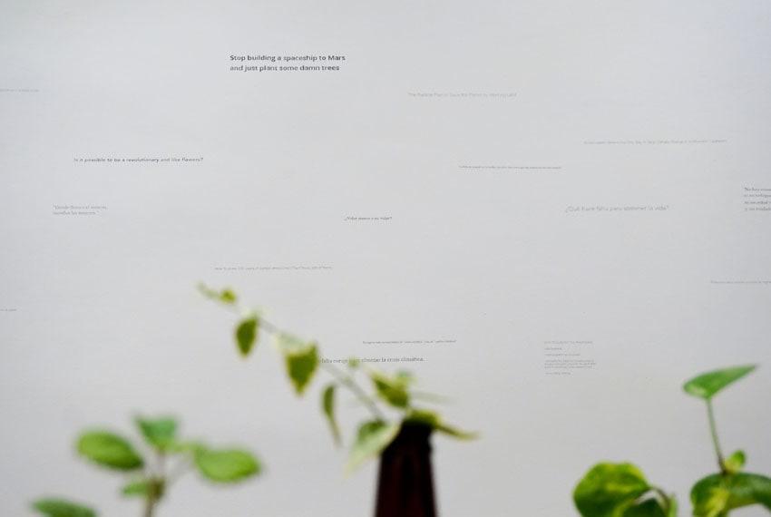 To talk about trees - Sara Agudo Millán