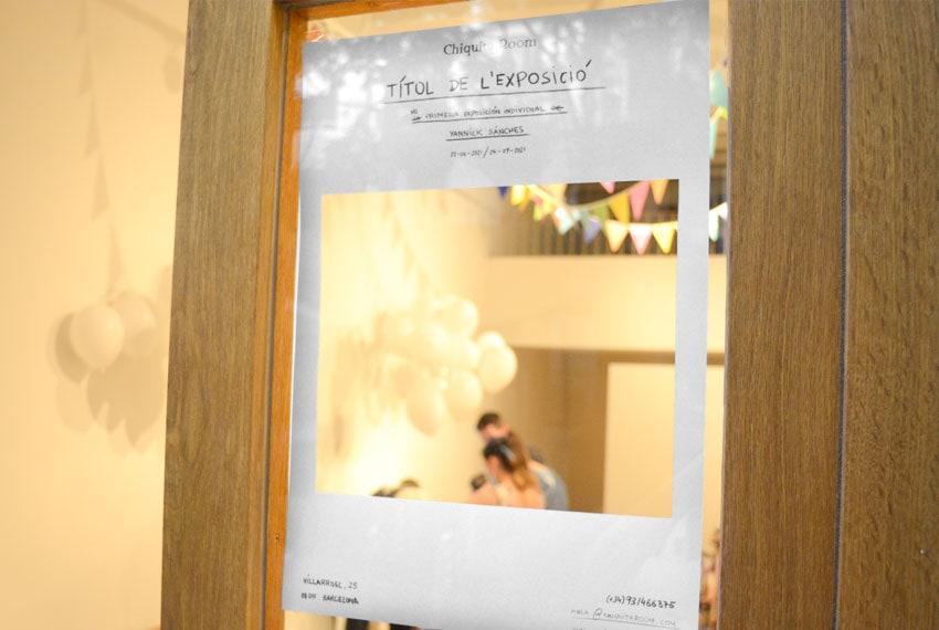 Títol de la exposició Yannick Sánchez en Art Nou